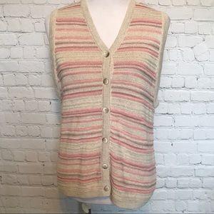 Pendleton button down vest